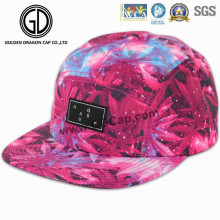 2016 New Fashion Era Leaf Print Adjustable Camper Snapback Cap