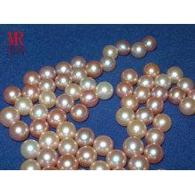 Perlas flojas redondas de agua dulce de 7-8mm
