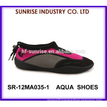 SR-12MA035 New women selling aqua water shoes water walking shoe beach shoes for water