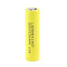 18650 Battery 3.7V Lghe4 2500mAh Lithium Battery Rechargeable Battery