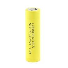 18650 Bateria 3.7V Lghe4 2500mAh bateria de lítio bateria recarregável