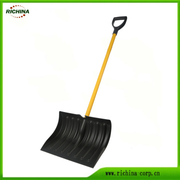 Basic Snow Pusher Shovel with Metal Handle