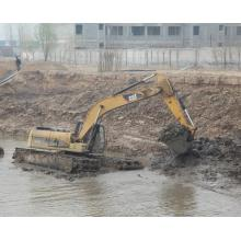 10t Crawler Digger Machine Amphibious Excavator for Sale