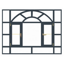 Qualität garantiert angemessener Preis Klassische Aluminiumfenster