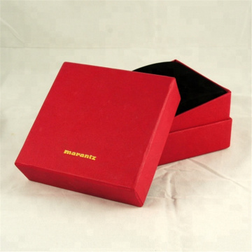 Niestandardowe logo papieru Wedding Ring Ring Box