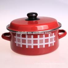 custom enamel casserole pot & food and soup pot