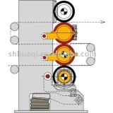 Super paper calender machine