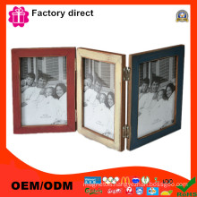 Fold Design Three Side Photo Album Picture Frame Manufacturers