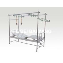 (A-143) Нержавеющая сталь Двойная функция Ортопедическая тяговая кровать