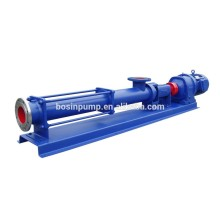 Single screw pump machine no block screw sewage pump