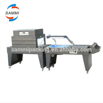 CE highly efficient paint brush shrink wrapping machine