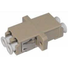 LC-Glasfaseradapter mit Flansch