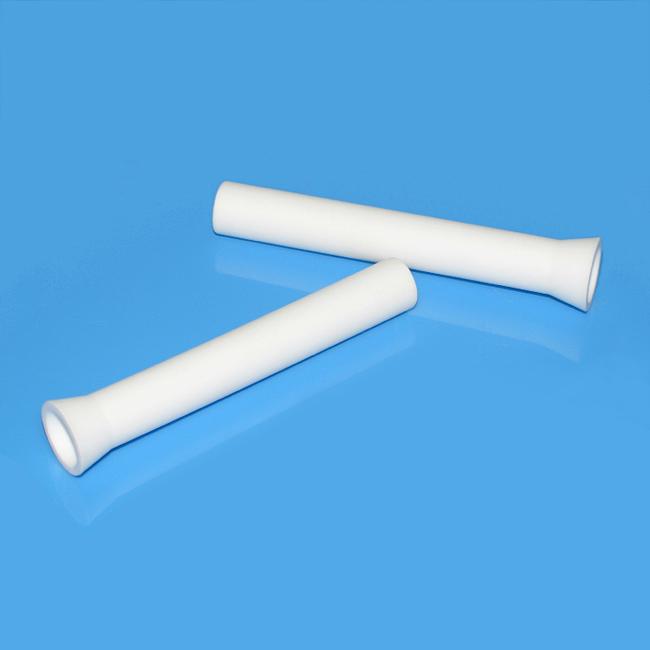 Collar ceramic tube