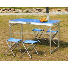 Klappbarer Tisch im Freien Portable Camping Tabelle Korean Klapptisch für im Freien