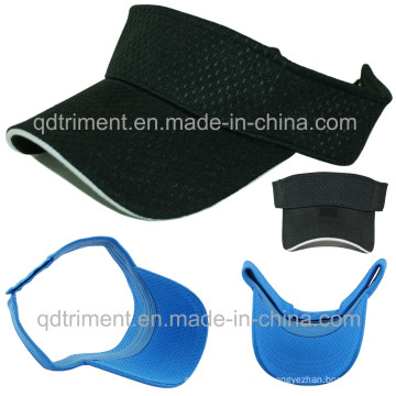 Fashion Soft Breathable Polyester Mesh Sport Summer Visor (TMV9488)