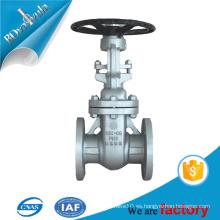 Agua aceite industria del gas suministro wcb válvula de compuerta de acero en estándar de ansi con la brida