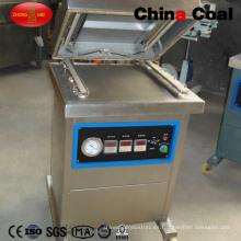 Dz400-2D sellador de alimentos de vacío de cámara única de acero inoxidable