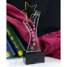 Crystal Trophy Boutique Pentagram Trophy