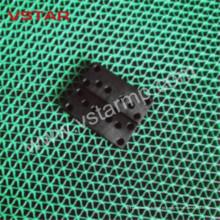 Peça rápida da prototipagem do CNC da precisão do OEM com preto