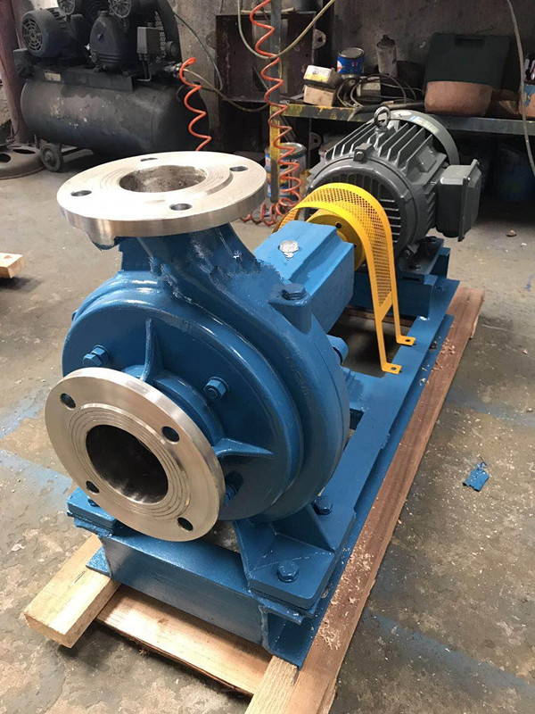 XWJ frequency conversion non-blocking stainless steel pulp pump explosion-proof low-concentration slurry pump 1