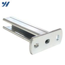 Suporte de aço da montagem U da parede da resistência de corrosão HDG