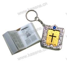 Fabrik Direktverkauf Rosenkranz Buch Min Bibel religiösen Schlüsselbund