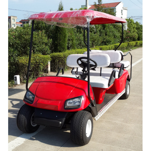 6 Seater  Mini Golf Cart With Electric Power