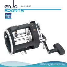 Angler Select Mars Entraînement à haute résistance en plastique Body 2 + 1 rouleau à pêche à la traîne pour pêche en mer (Mars 030)