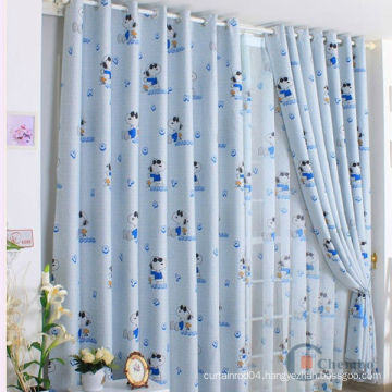 2015 elegant lovely model cartoon kids curtain patterns