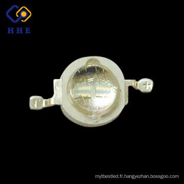 Haute puissance en gros double puces 5w 420nm uv haute puissance led pour cultiver des lumières