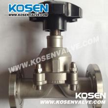 Мембранные клапаны из нержавеющей стали (G41)