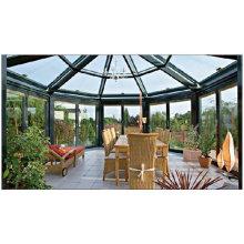 Romantic House Heat Insulation Laminated Glass Aluminium Sunroom (FT-S)