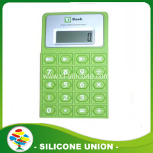 Office tool flexible silicone calculator with 8 digital