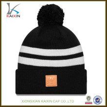 Ajusté de haute qualité New Style cuir Patch gros bonnets personnalisés