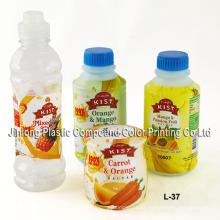 Etiqueta de encolhimento de PVC para garrafas