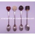 Polyresin Chocolate Decor Souvenir Tea Spoon Gifts