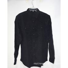 Summer Printed Black Casual Blouse Shirt