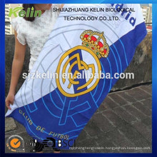 reactive print cotton promotional football club beach towel