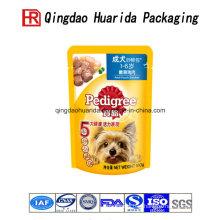 Food Grade Colorful Plastic Pet Food Bag Supply