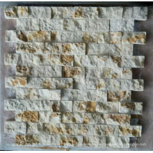 Azulejo de mármol de la pared del mosaico de piedra (HSM221)