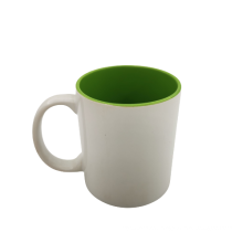 red inner hot sale sublimation mug with factory price for sale