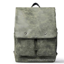 High quality outdoor leather travelling bag backpack for sale