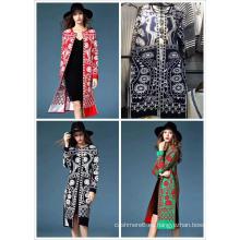 Cárdigan suéter de invierno de moda nueva para mujer
