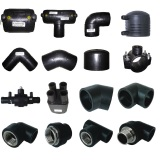 HDPE Fittings, PE100 Fitting for Gas Pipe/Water Pipe (ISO4427, En12201-3)
