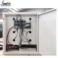 Standalone design metal locker armário quadro estação de carregamento do telefone móvel