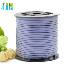 newest style jewelry cord,flat suede cord,jewelry purple faux suede cord SJW023
