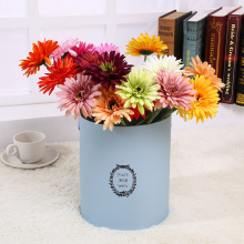 Cylindrical+Flower+Gift+Box+with+Handle