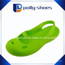 Новый продукт EVA обуви зеленый леди моды плоский сандал