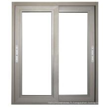 Fenêtre en aluminium coulissante de double vitrage en Chine