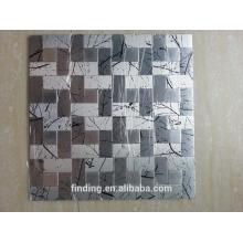 fest ACP-selbstklebende Deko Fliesen Mosaiktafeln